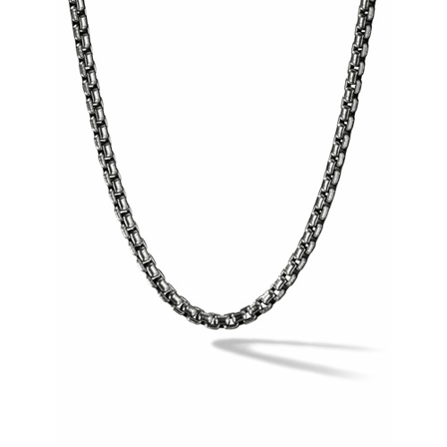 David Yurman Colar médio 'Box Chain' - SS