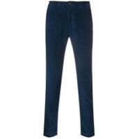 Department 5 Calça Skinny Aveludada - Azul