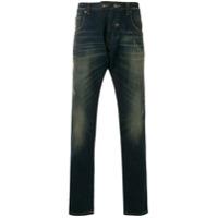 Gabriele Pasini Calça Jeans Reta - Azul