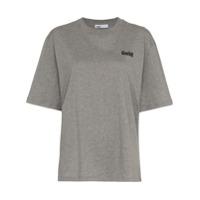 Gmbh Camiseta Com Estampa De Logo 'x Browns' - Cinza