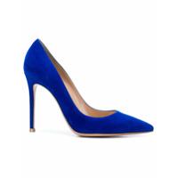 Gianvito Rossi Sapato Bico Fino - Azul