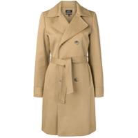 A.P.C. Trench coat com amarração - Neutro