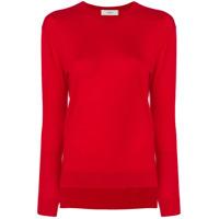 Pringle Of Scotland Round Neck Sweater - Vermelho