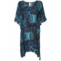 Seafolly Vestido Com Babado - Azul