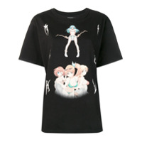 Misbhv Camiseta Com Estampa - Preto