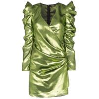 De La Vali Vestido Gin De Lurex - Verde