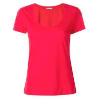 Moncler Camiseta Mangas Curtas - Vermelho
