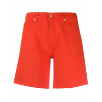 7 For All Mankind Short Jeans - Vermelho