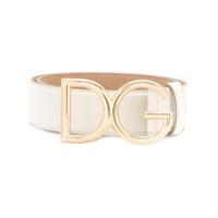 Dolce & Gabbana Cinto Com Logo - Branco