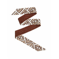 Fendi Ff Wrappy Scarf - Neutro