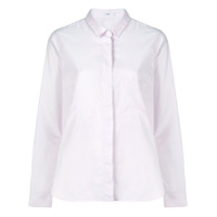Closed Concealed Fastening Shirt - Rosa