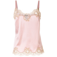 Dolce & Gabbana Underwear Lace Trim Top - F1232 Very Light Lavender