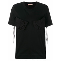 Marni Camiseta Mangas Curtas - Preto