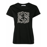 Givenchy Camiseta Com Logo '4G' - Preto