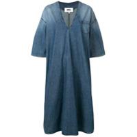 Mm6 Maison Margiela Vestido Jeans - Azul