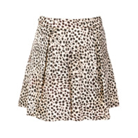 L'autre Chose Short Com Animal Print - Preto