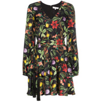 Borgo De Nor Vestido Floral Mini - Multicoloured