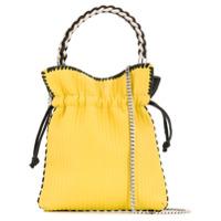 Les Petits Joueurs Ribbed Bucket Bag - Amarelo