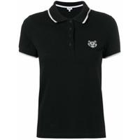 Kenzo Camisa Polo Mangas Curtas - Preto