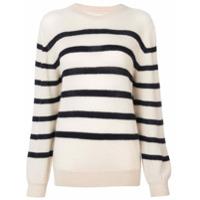 Khaite Suéter Listrado - Branco