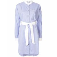 Comme Moi Shirt Midi Dress - Azul