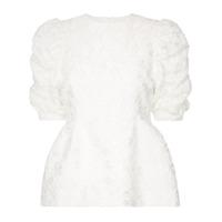 Shushu/tong Blusa Com Detalhe Franzido - Branco