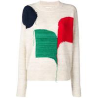 Isabel Marant Étoile Colour-Block Sweater - Neutro