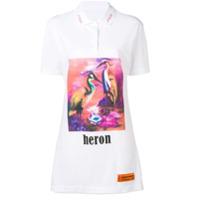 Heron Preston Heron T-Shirt Dress - Branco