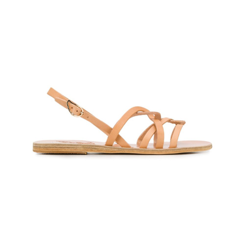 Imagem de Ancient Greek Sandals Sandália 'Schinousa' de couro - Neutro
