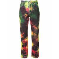 Msgm Calça Jeans Skinny Tie-Dye - Vermelho