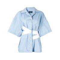 Kolor Camisa Com Contraste - Azul