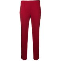 Incotex Calça Slim - Vermelho