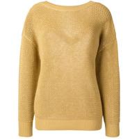 Nina Ricci Drop Shoulder Sweater - Neutro