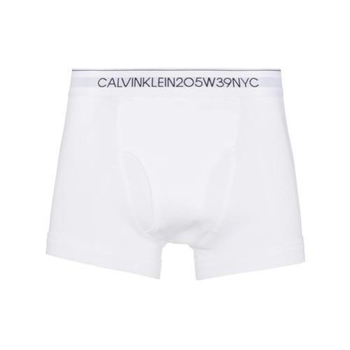 Imagem de Calvin Klein 205W39nyc Cueca boxer com logo - Branco