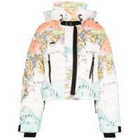 Shoreditch Ski Club Jaqueta Matelassê Melting World - Branco