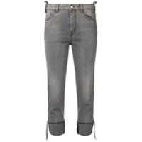 Just Cavalli Calça Jeans Com Tachas - Preto