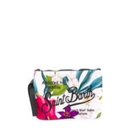 Mc2 Saint Barth Clutch Com Estampa 'parisienne Paradise' - Branco