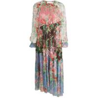 Zimmermann Vestido Bellitude Com Estampa Floral - Rosa