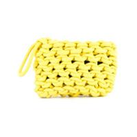 Alienina Bolsa Clutch - Amarelo
