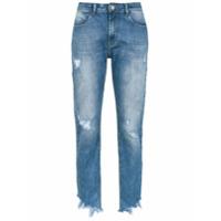 Pop Up Store Calça Jeans Skinny Cropped - Azul