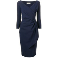 Le Petite Robe Di Chiara Boni Vestido Envelope - Azul