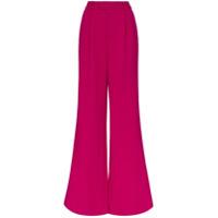 Rebecca De Ravenel Calça Pantalona - Rosa