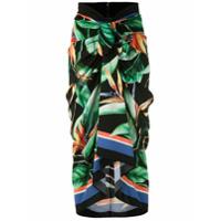 Dolce & Gabbana Saia Midi De Seda Estampada - Colorido