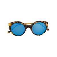 Illesteva Óculos De Sol Gatinho - Marrom