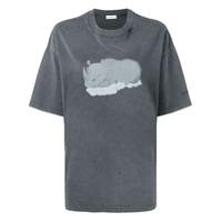 Balenciaga Camiseta Rhino - Cinza