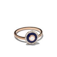 Selim Mouzannar Anel Mina De Ouro Rosé 18K Com Diamante - Rose Gold