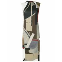Osklen Vestido Midi Estampado