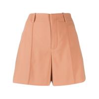 Chloé Short Cintura Alta - Neutro