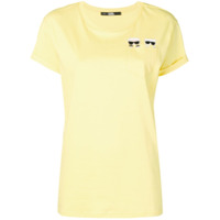 Karl Lagerfeld Camiseta Com Bolso - Amarelo