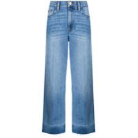 Frame Calça Jeans Pantalona Cintura Alta Ali - Azul
